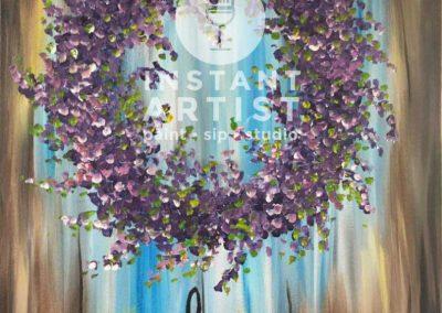 Welcome Wreath  (#542) • Instant Artist • 16x20 • Tier 3