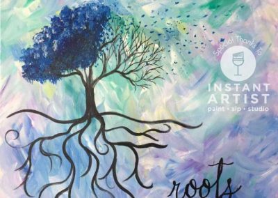 Wings & Roots  (#541) • Instant Artist • 16x20 • Tier 3