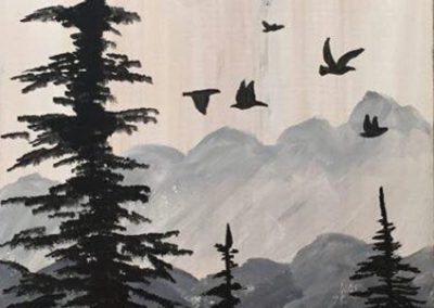 Wood Pines (#540) • Instant Artist • 16x20 • Tier 3