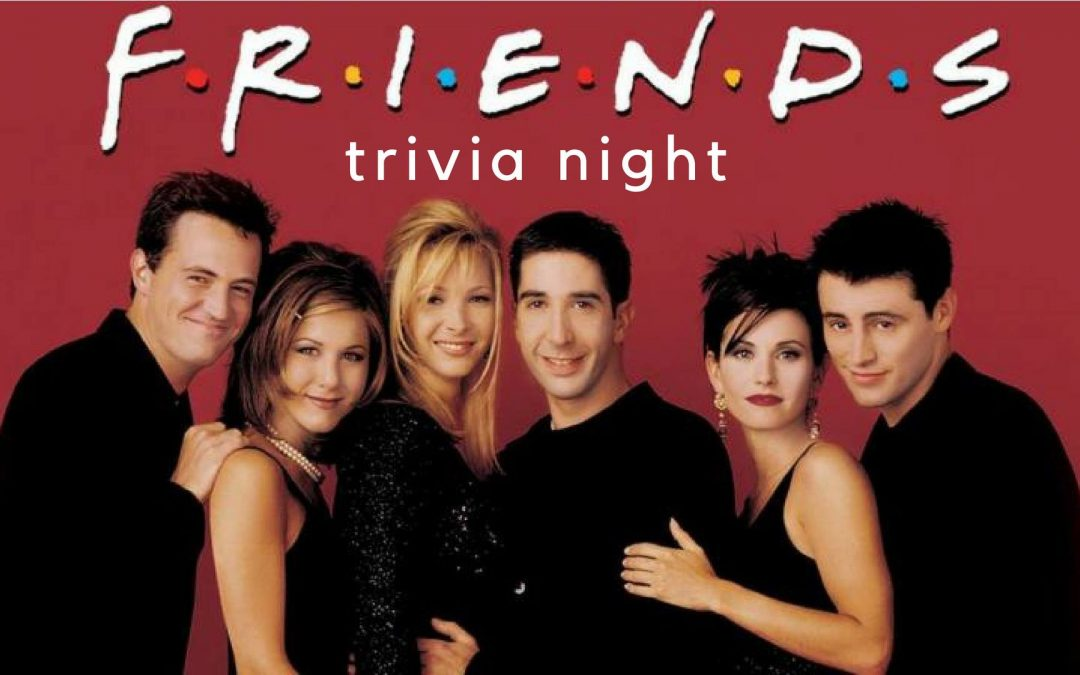 FRIENDS!  Paint & Trivia Night
