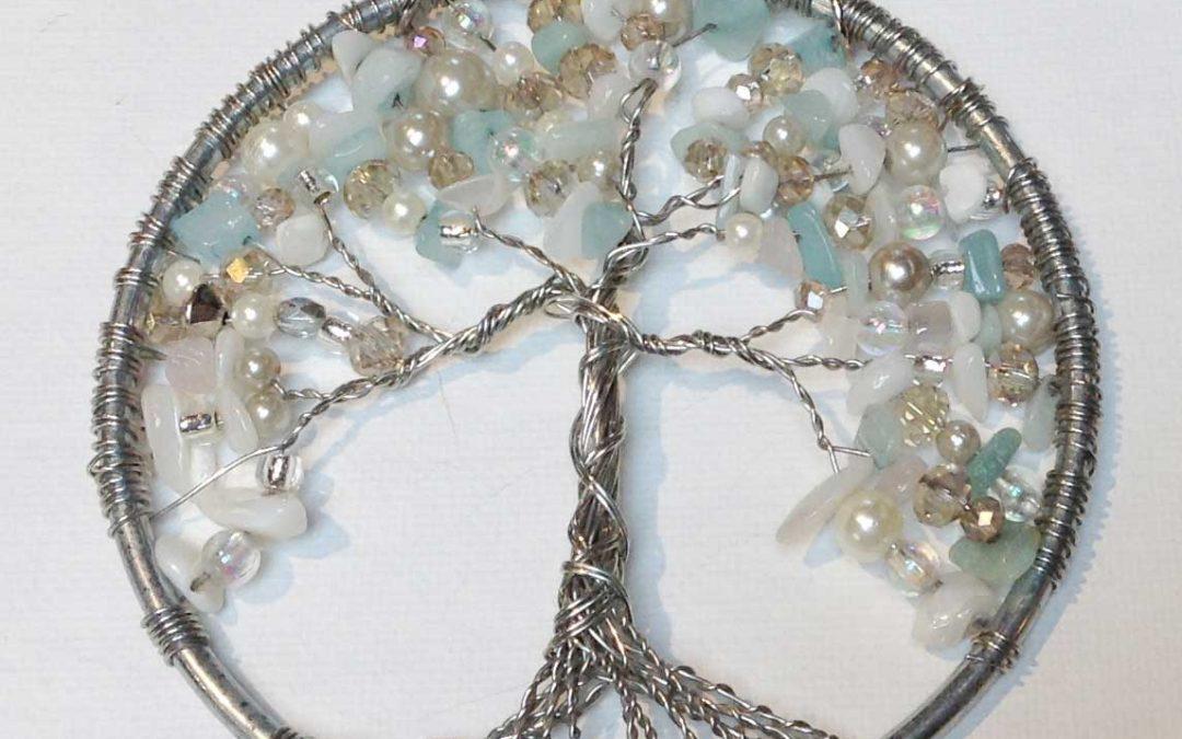 Beaded Tree of Life – Pendant, Window Hang or Ornament