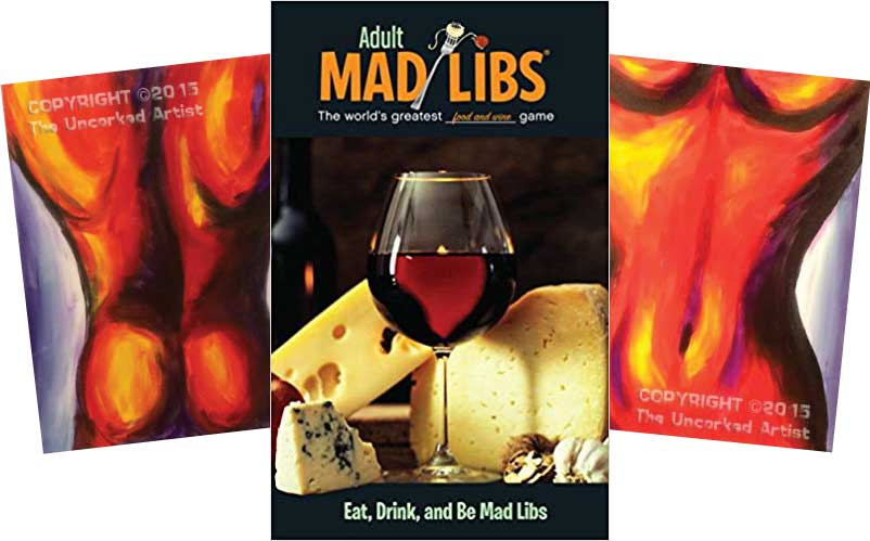 Eat, Drink, and Be Mad Libs!