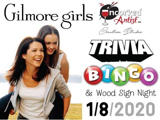 Gilmore Girls – Bingo Trivia & Paint Night (All Ages Welcome)