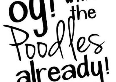 OyWithThePoodlesAlready-GilmoreGirls-12x12