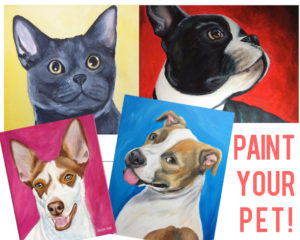 Paint Your Pet Take Home Kit
