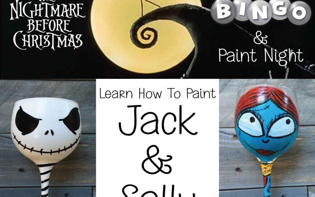 The Night Before Christmas – Trivia-Bingo & Paint
