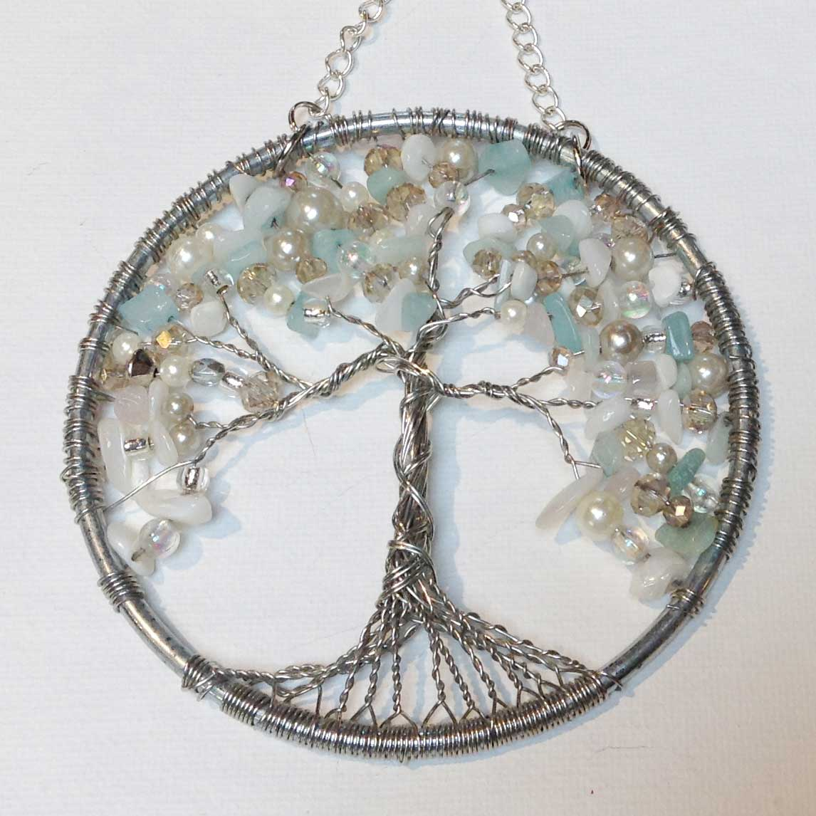 Wire Beaded Tree of Life