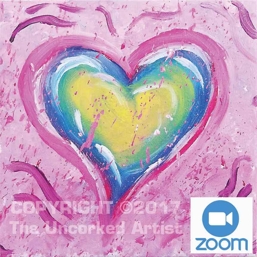 5-13   3pm   Splatter Heart