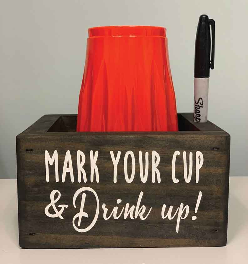 New!! Summer Solo Cup Holder